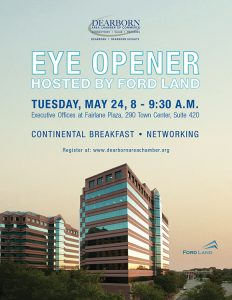 Ford Land hosts Dearborn Area Chamber Eye Opener