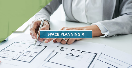 Space Planning Services : Commercial real estate services for business ford land