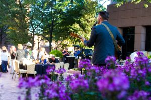Ford Land Hosts Concert in the Courtyard