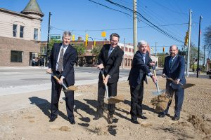 Ford Land Begins Construction for Wagner Place, New Urban Office and Retail Space in West Dearborn