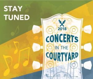 Ford Land to Host Concert in the Courtyard