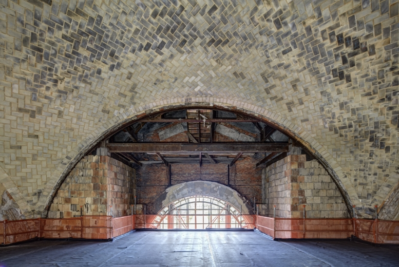 Interior Archway in Michigan Central Station