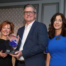 Dave Dubensky accepting the Dearborn Chamber IMPACT Award